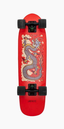 Landyachtz Dinghy Dragon Red 28.5