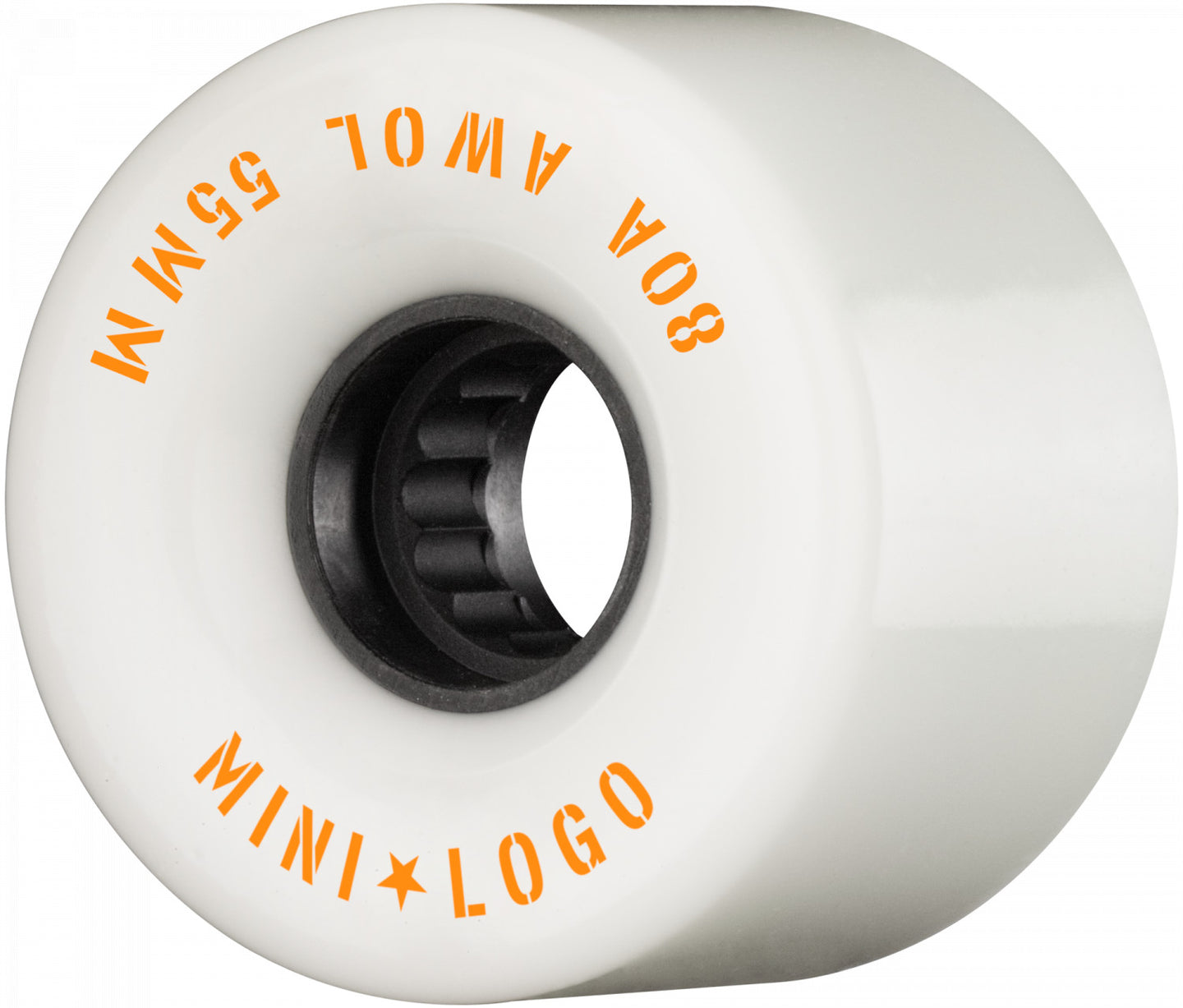 Mini Logo ATF A.W.O.L. Skateboard Wheels 55mm 80a White