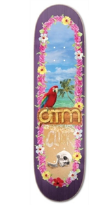 "ATM ""Parrot"" Deck 8.125"" w/Free MOB Griptape - Feet First NJ"