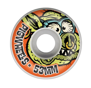 Pig Toxic ProLine Skateboard Wheels 53mm 101a (Pack of 4) - Feet First NJ
