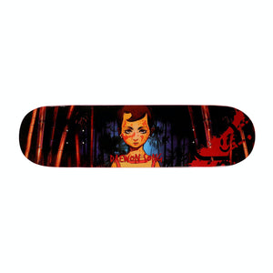 "Thank You ""Revenge"" Skateboard Deck 8.25"" w/Free MOB Griptape"