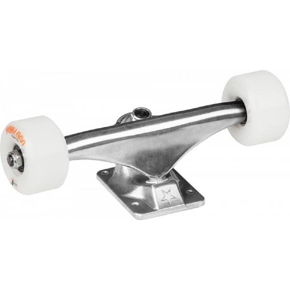 Mini Logo Raw Skateboard Trucks W/A-Cut 8.0