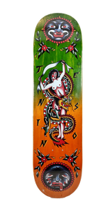 "Tension x Aversa Deck 8.1"" w/Free MOB Griptape"