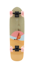 "Load image into Gallery viewer, Landyachtz Schooner Swell Complete Cruiser Skateboard 8.6"" x 30.75"""