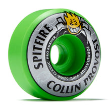 Load image into Gallery viewer, Spitfire Collin Provost Formula Four Classic Pro Burner Wheels 53mm 99DU Green - Feet First NJ
