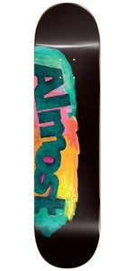 "Almost ""Side Smudge"" Skateboard Deck 8.5"" w/Free MOB Griptape"