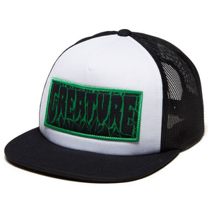 Creature Ligaments 2 High Profile Mesh Trucker Hat Black OS