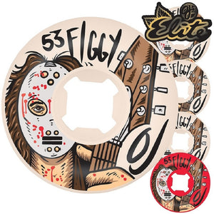 "OJ Wheels Elite Justin ""Figgy"" Figueroa Shred Original Mini Combo 53mm 101a Wheels - Feet First NJ"