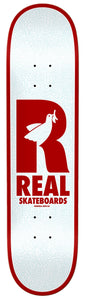 "Real ""Doves Renewal"" Skateboard Deck 8.06"" w/Free MOB Griptape"