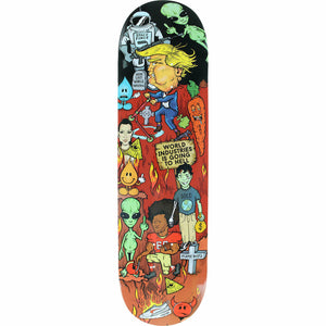 "World Industries ""Worst Deck Ever"" 8.1"" Skateboard Deck w/Free MOB Griptape"