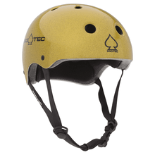 Load image into Gallery viewer, Protec Classic Full Cut Skate Helmet Gold Flake - Feet First NJ