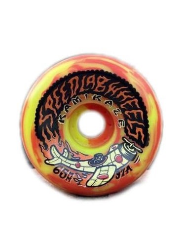 Speedlab Kamikaze Skateboard Wheels 65mm x 26mm 97A