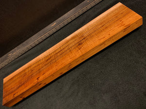 "Hawaiian Curly Koa Wood Billet - 29"" x 6.25"" x 1.625+"""