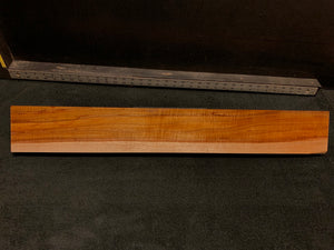 "Hawaiian Curly Koa Wood Billet - 30"" x 4+"" x 1.375+"""