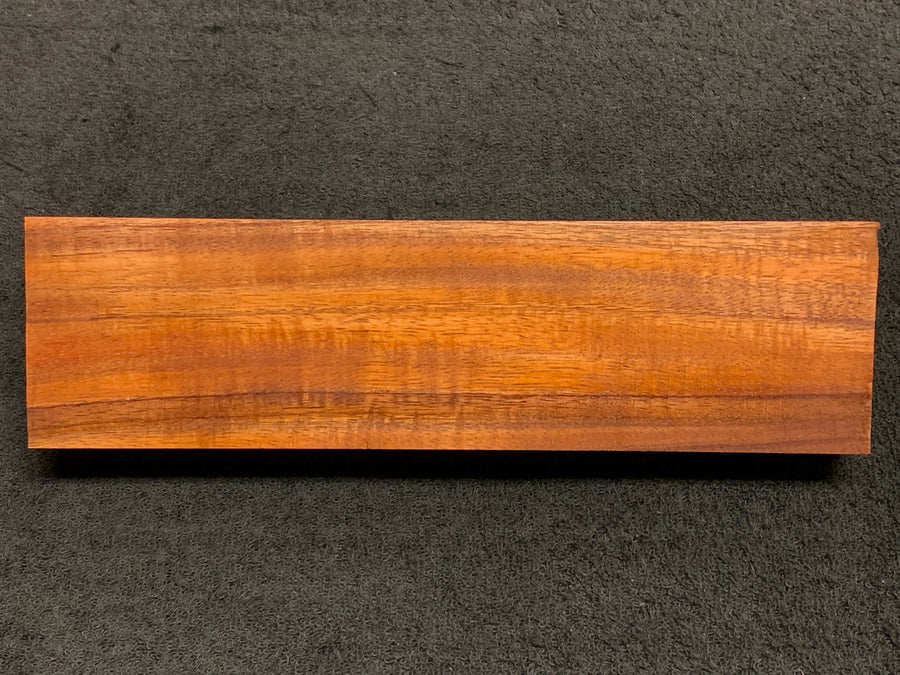 "Hawaiian Curly Koa Wood Billet -  9.875"" x 2.625"" x 1.5"""
