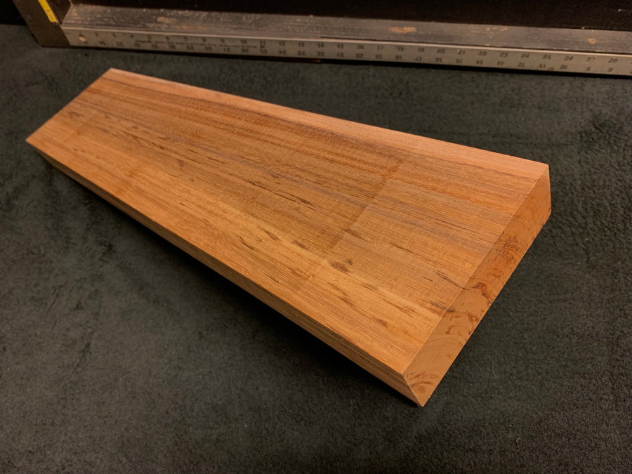 "Hawaiian Curly Koa Wood Billet - 22"" x 5.375+"" x 1.625"""
