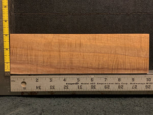 "Hawaiian Curly Koa Wood Billet - 10"" x 2.875"" x 0.875"""