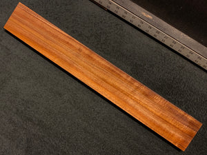 "Hawaiian Curly Koa Wood Billet - 19+"" x 2.75"" x 0.875+"""
