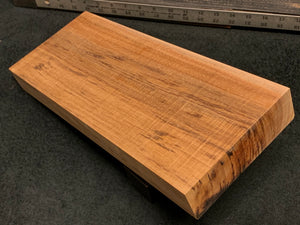 "Hawaiian Curly Koa Wood Billet - 16"" x 6.375"" x 1.75"""