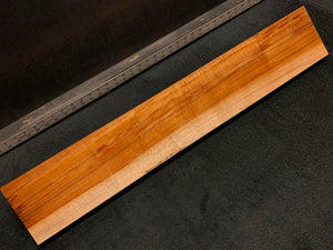 "Hawaiian Curly Koa Wood Billet - 30"" x 5+"" x 1.375+"""