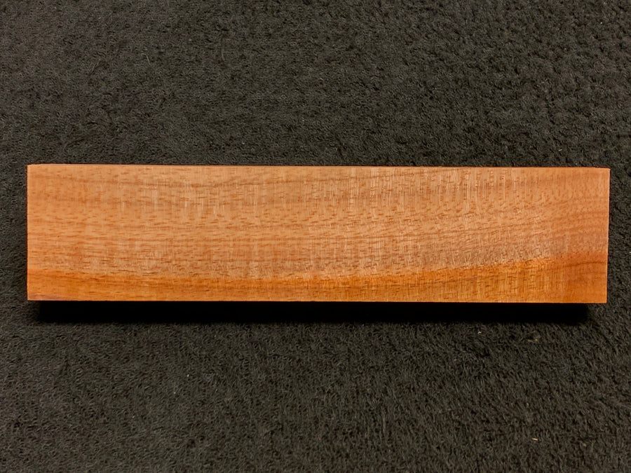 "Hawaiian Curly Koa Wood Billet -  7.5"" x 1.75"" x 1"""