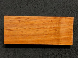 "Hawaiian Curly Koa Wood Billet -  6.25"" x 2.5"" x 1.125"""
