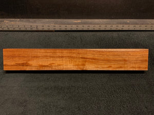 "Hawaiian Curly Koa Wood Billet - 20"" x 2.875+"" x 1.5+"""