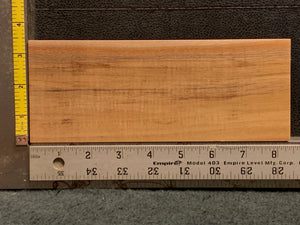 "Hawaiian Curly Koa Wood Billet -  8.25"" x 3.25"" x 1.25"""