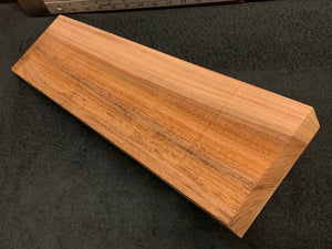 "Hawaiian Curly Koa Wood Billet - 20"" x 5.125"" x 1.375"""