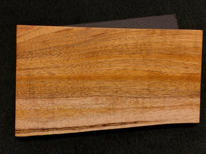"Hawaiian Curly Koa Wood Craft and Project Blank -  8.875"" x 3.75+"" x 1.125"""