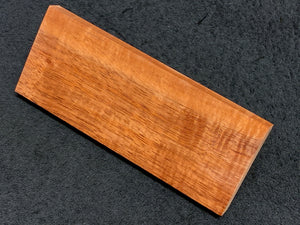 "Hawaiian Curly Koa Wood Billet -  6.25"" x 2.5"" x 0.5+"""