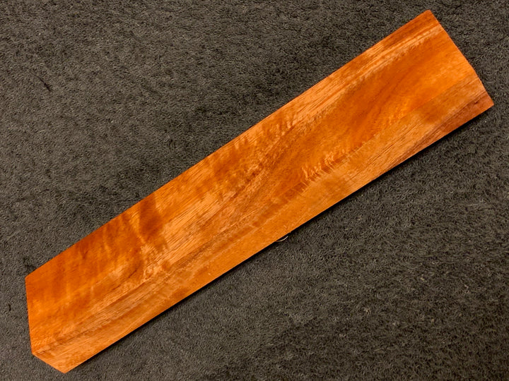 "Hawaiian Curly Koa Wood Billet -  9.5"" x 2"" x 1"""