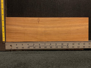 "Hawaiian Curly Koa Wood Billet - 14.875"" x 4.25+"" x 1.125+"""