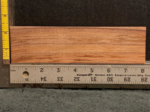 "Hawaiian Curly Koa Wood Billet -  8"" x 2.125"" x 1"""