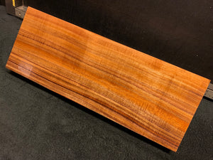 "Hawaiian Curly Koa Wood Billet (2-piece set) - 20"" x 7.5"" x 1.75+"""