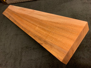 "Hawaiian Curly Koa Wood Billet - 30.5"" x 4.5"" x 1.375+"""