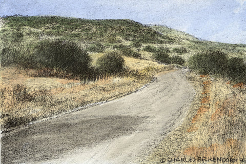 HC Hill Country Road 9.5 x 12.5