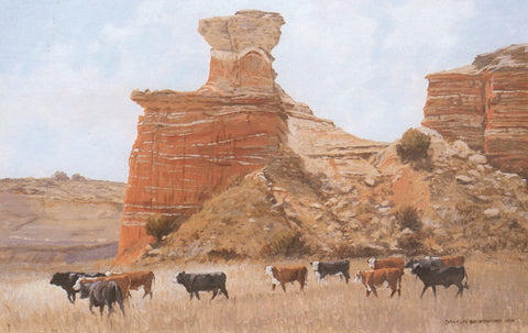 Palo Duro by Charles Beckendorf | Western Art