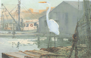 H-73  Common Egret