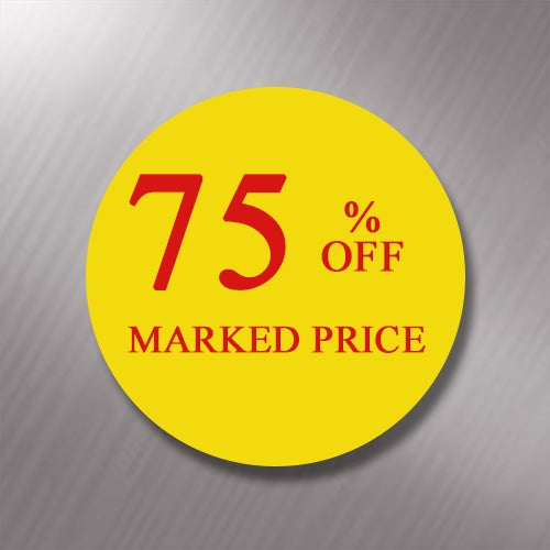 Promotional Labels - 75% Off - 1000 Promo Labels