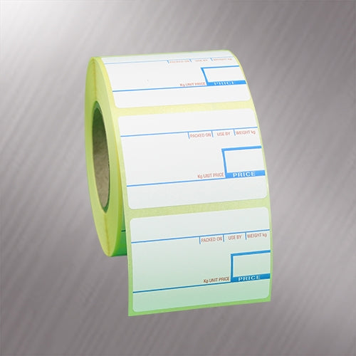 CAS Thermal Scale Labels 58x40mm