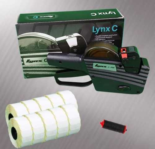 Lynx-CO6 (Oval Label Pricing gun) Starter Pack