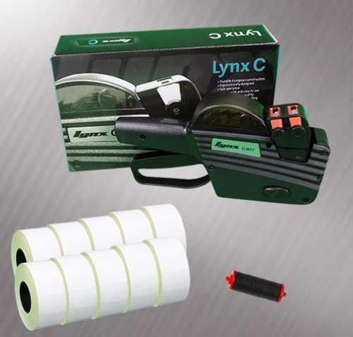 Lynx C-W17 2-Line Pricing Gun Starter Pack