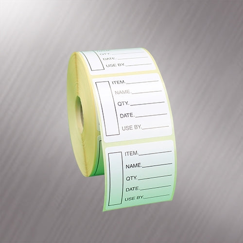 Easy Mark Food Hygiene Labels 1000 Labels - Peelable - Day Dot Labelling