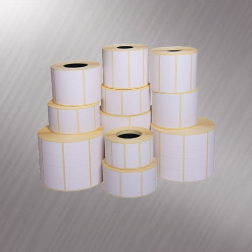40mm x 18mm Semi-Gloss Printed Labels (5,000)
