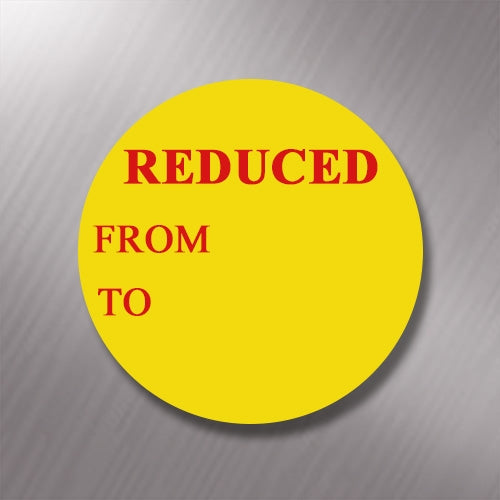 Promotional Labels - Reduced - 1000 Promo Labels