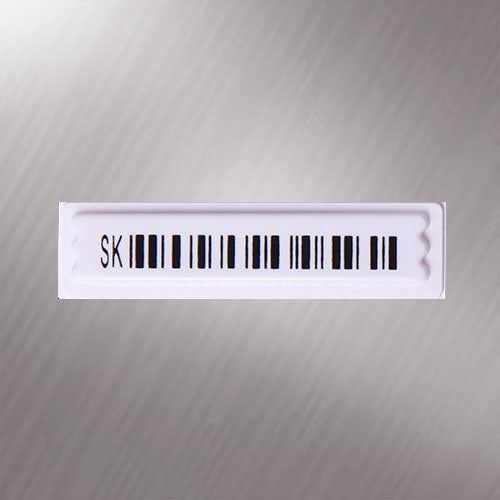 Sekura 'SK' AM 58KHz Frequency 44x10mm Security Soft Tag Labels