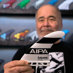 "Aipa announces ""Da Hook"" collaboration launch with Futures Fins."