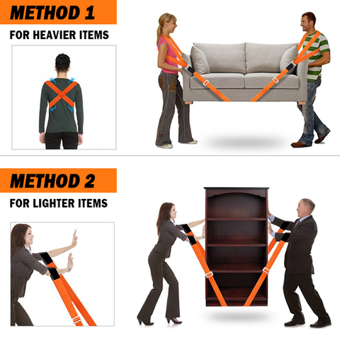 Furniture Lifting and Moving Straps - smartcooldeals.com