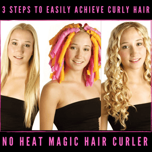 No Heat Magic Hair Curlers